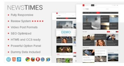 NewsTimes Theme by MyThemeShop