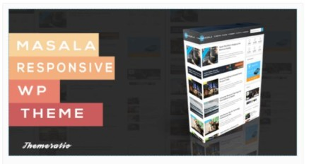 Masala WordPress Blog Theme