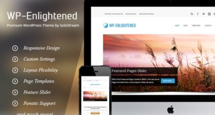 Premium Theme: WP-Enlightened